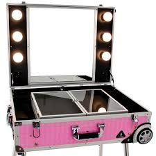 mobile beauty station glamour 9606 pink