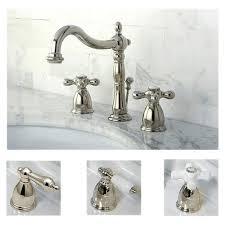 Shop Polished Nickel Widespread Bathroom Faucet On Sale Overstock 6143483