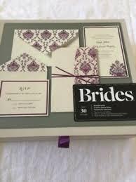 brides pocket wedding invitation kit