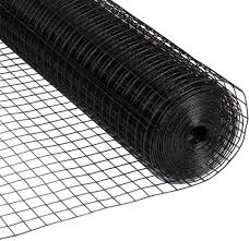 Amagabeli 36inch X 50ft Hardware Cloth 1 5 Inch Square 16 Gauge Black Vinyl Coated Welded Fence Mesh Roll For Home And Garden Fence And Pet Enclosures Protect Chickens Rabbits And Farmed Animals