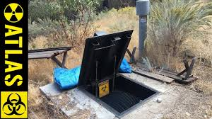 secret modern bunker loaded up with