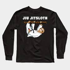 cute sloth jiu jitsu t shirt gift