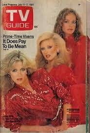VINTAGE TV GUIDE JULY 11 1981 DONNA MILLS PAMELA SUE MARTIN ...
