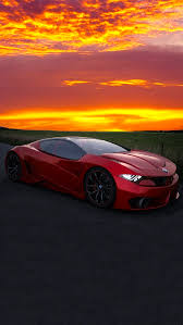 the iphone wallpapers red sports car
