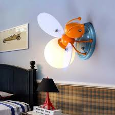 Modern Cute Bee Wall Sconces Lighting Kids Bedroom Decor Wall Mount Fixture Lamp Ebay