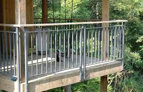 Building Metal Deck Railing Ideas Stairs And Kitchen Bronze Lowe S Systems Home Elements Style Railings Gates Inserts Kits Painted Crismatec Com