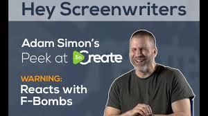 Drehbuchautor Adam Simon begeistert von der SoCreate-Plattform ...