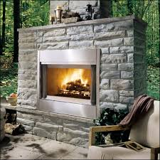 outdoor wood burning fireplace insert