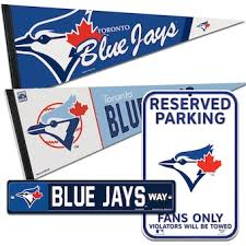 Official Toronto Blue Jays Wall Decorations Blue Jays Signs Posters Tavern Signs Mlbshop Com