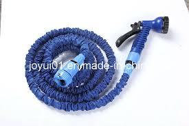 brass fitting expandable garden hose