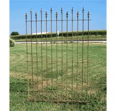 Wrought Iron Fence Cast Iron Finials 6 Ft