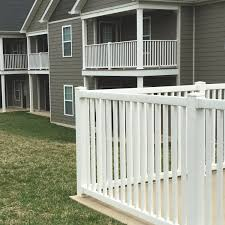 Vinyl Biscayne Fence Color Guard Railing Systems