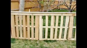 Pallet Fence Ideas For Dogs Woodsinfo