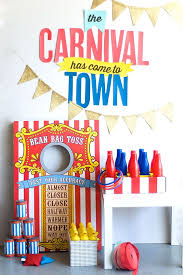 diy carnival party ideas plus free