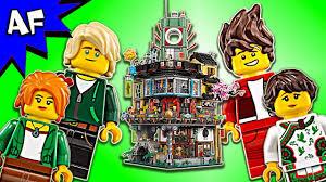 Lego Ninjago Movie: NINJAGO CITY 70620 Animation & Speed Build - YouTube