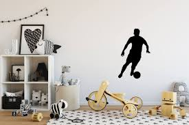 Soccer Decal Small Large Vinyl Soccer Wall Decals Soccer Wall Stickers Soccer Wall Decal Decal Of Kids Room Wall Decals Kids Wall Decals Home Decor