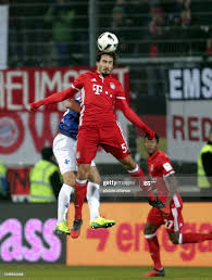 Darmstadt's Antonio Colak and Munich's Mats Hummels vie for the ball...  News Photo - Getty Images