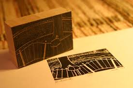 cutting and printing your own woodblock