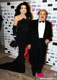 Adnan Khashoggi and wife Lamia | Celebrities, Club kids, People