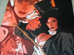 Zatanna Poster - Adam Hughes art from Catwoman #58 - Full size promo poster  | #1734284092