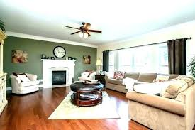 accent walls living room fireplace
