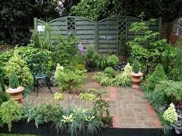 outside garden wall courtyard gardens