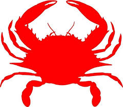 Amazon Com Crab Picture Art Children S Animal Picture Art Peel Stick Vinyl Wall Decal Sticker Crabs Seafood Claws Crawler Cockroach Of The Sea Red Ocean Sea Water Decal Decals Sticker