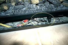 gas fireplace shuts off after a few