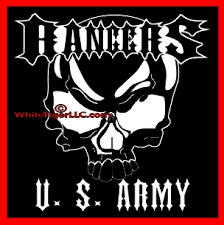U S Army Rangers Skull Car Truck Store Window Decal Sticker