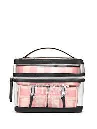 signature stripe 4 in 1 beauty bag set