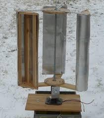 build a vertical axis wind turbine