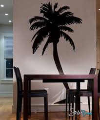 Large Palm Tree Wall Decal Sticker 132 Stickerbrand