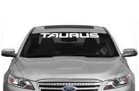 Ford Taurus Windshield Banner Decal Sticker Midwest Sticker Shop
