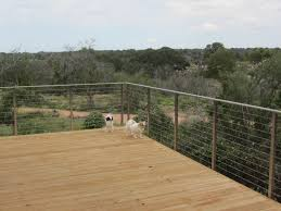 Customer Review Stainless Steel Cable Railing System With Flat Top Rail In Tx Agsstainless Com