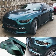Stone Green Car Pearl Metal Satin Matte Metallic Chrome Vinyl Wrap Sticker Cf Ebay