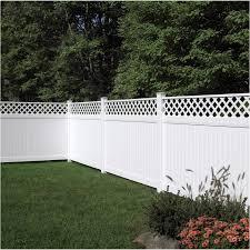 8 Brookhaven Privacy Lattice Top Panel Fence Walmart Canada