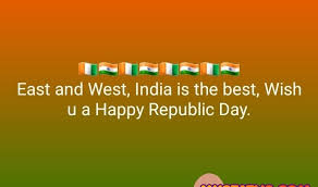 happy republic day whats app status quotes and messages images