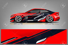 Car Decal Wrap Design Vector Graphic Abstract Stripe Racing Royalty Free Cliparts Vectors And Stock Illustration Image 124859699