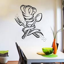 Wall Decal Kitchen Vinyl Wall Stickers Modern Window Poster Spoon Fork Pattern Wall Stickers Restaurant Chef Decal Black Wall Decals Black Wall Stickers From Onlinegame 11 85 Dhgate Com