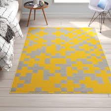 trule briscoe hand crafted yellow gray