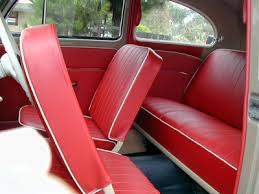 1956 57 vw beetle interior and upholstery