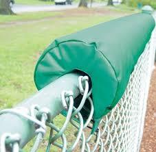 Envirosafe Premium Rail Fence Top Padding 2 Thick Baseball Fence Store