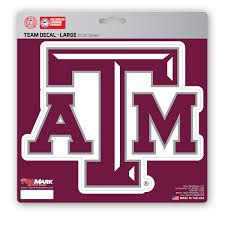 Texas A M Large Decal Fanmats Sports Licensing Solutions Llc