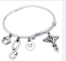 veterinary gift charm bracelet
