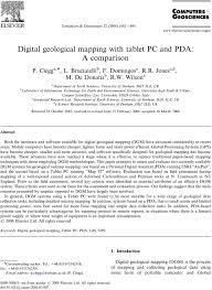Digital geological mapping with tablet PC and PDA: A comparison - PDF Free  Download
