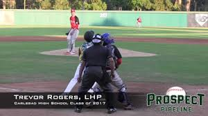 Trevor Rogers Prospect Video, LHP, Carlsbad High School Class of 2017 -  YouTube