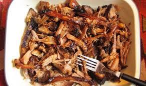 sugar free barbeque pulled pork