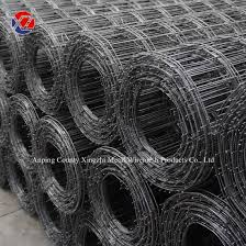 China 3mm Black Concrete Reinforcing Welded Wire Mesh Roll China Reinforcing Mesh Roll Construction Wire Mesh