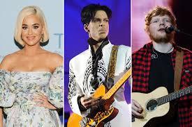 Prince memoir reveals he hated Ed Sheeran and Katy Perry's music