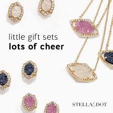 stella dot charlotte pendant set